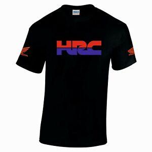 Honda hrc motorbike motorcycle tribute tshirt top size s-xxl