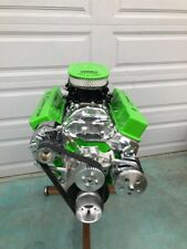 350 SBC CRATE MOTOR 450HP ROLLER CRATE ENGINE TURNKEY  WITH EFI ANY COLOR SBC