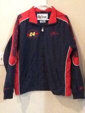 Jeff Gordon NASCAR 24 Chase Authentics Men's Red Blue Red Jacket Size Medium