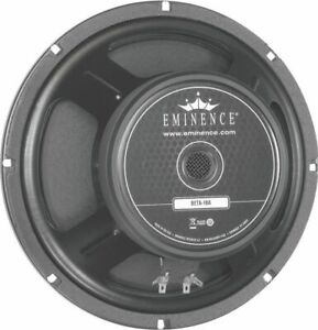 EMINENCE 10-in Bass Guitar Speaker, 500W Max, 8 ohms w/Aluminum voice coil