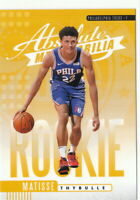 19/20 2019/20 Panini Absolute Yellow Rookies #22 Matisse Thybulle 76ers