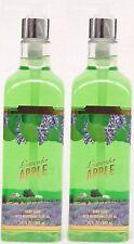 2 Bath & Body Works LAVENDER APPLE Luxury Hand Soap Olive Oil Tall 15.5 oz