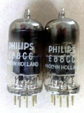 Two (2) x Philips Special Quality E88CC Electron / Vacuum Tubes Valves