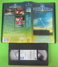 VHS film CORTO CIRCUITO 1990 John Badham CBS SILVER GOLD 372415 (F190) no dvd