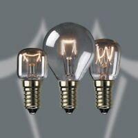 15W / 25W / 40W SES E14 OVEN LIGHT BULBS  COOKER HOOD LAMPS 240v 300°