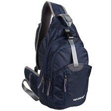 WASING Military Sport Pack Shoulder Sling Backpack Men Women Chest Gym Bag NEW