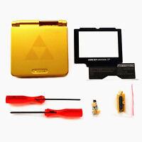 The Legend of Zelda Gold Shell Case For Nintendo Gameboy Advance SP GBA SP