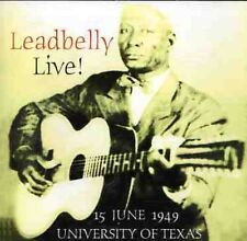 Lead Belly, Leadbelly - Leadbelly Live [New CD]