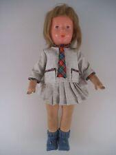 ältere Käthe Kruse Puppe 38 cm 50er Jahre US Zone (662)