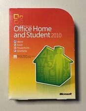 MS Office 2010 Home and Student Vollversion deutsch inkl.3xInstallationen