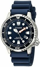 Citizen Eco Drive Promaster Blue Dial SS Poly Quartz Mens Watch BN0151-09L