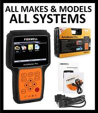 FOXWELL NT624 ALL SYSTEMS UNIVERSAL DIAGNOSTIC SCAN TOOL ABS AIRBAG SRS SCANNER