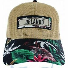Straw Floral Hat, Baseball caps