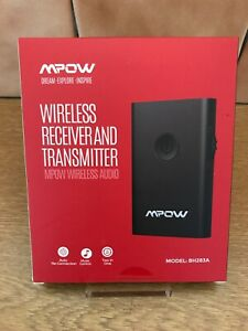 MPOW BH283A WIRELESS BLUETOOTH AUDIO RECEIVER AND TRANSMITTER - BRAND NEW SEALED