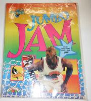 Jumbo Jam Magazine Michael Jordan Space Jam Coloring Book USED 1996 082314R