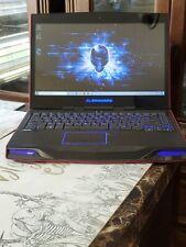 """Alienware P18G 14"""" Intel Core i7 3740QM 2.70 GHz 16GB 256GB SSD Win 10 home"""