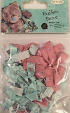 Me To You,tatty bear large Ribbon Bows 20 Pieces