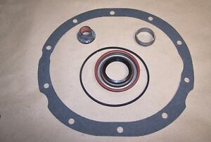 FORD 9 INCH INSTALL KIT WITH NUT CRUSH SLEEVE SEAL O RING Gasket
