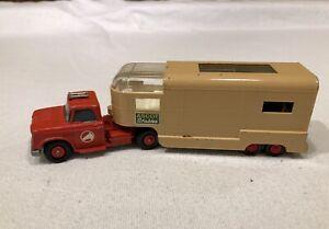 Lesney Matchbox King Size Dodge Tractor w/ Articulated Horse Van Trailer (K-18)