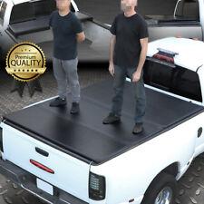 FOR 07-14 SILVERADO/SIERRA 6.5FT SHORT BED FRP HARD SOLID TRI-FOLD TONNEAU COVER