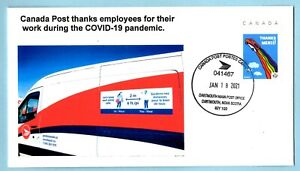 Canada Post Thanks to Employees Picture Postage  Cover