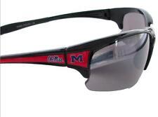 Ole Miss Rebels Mississippi Black Red Mens Womens Licensed Sunglasses UM S7JT