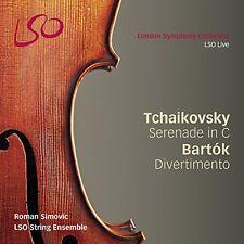 Tchaikovsky / Bartok - Serenade for Strings [New SACD] Hybrid SACD