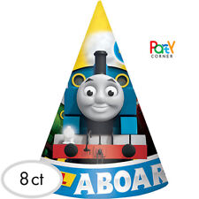 Thomas The Tank Engine Party Supplies PARTY HATS Pack Of 8