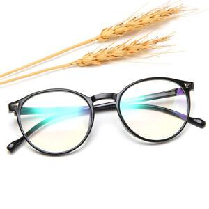 Retro Round Blue Light Blocking Computer Glasses for Anti Eyestrain UV420