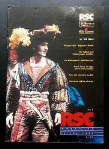 RSC Magazine Spring 1992 Issue No.5 Royal Shakespeare Company Peter Hall
