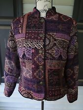 Womens Christopher & Banks Size S Small Purple Pink Jacket
