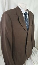 Canali 42R Men's Houndstooth Sport Coat 100% Cashmere 3 Btn Gold and Black