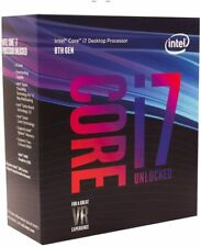 Intel Core i7-8700K Desktop Processor 6 Core 4.7GHz LGA1151 300 Series 95W S198