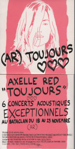 Axelle Red Toujours CD PROMO