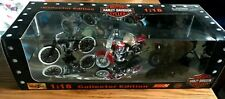 Harley Davidson Collector Edition Series #8 1:18 Diecast set of 3 motorcycles