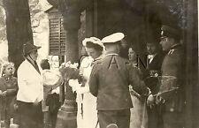 WWII German Large (4x3) RP- Luftwaffe- Bride- Wife- Frau- Medal- Dagger- Wedding