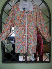 Vtg 80's Women's KEN DONE Australia Bright Colorful Flowered Jacket Size L  NWT