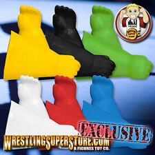 6 Pairs of Rubber Superhero Gloves for Mego Figures (All 6 Colors)