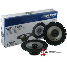 BRAND NEW ALPINE 6.5-INCH 2-WAY CAR AUDIO COAXIAL SPEAKERS (PAIR) 6-1/2""
