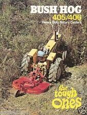 Farm Equipment Brochure - Bush Hog - 405 406 - Heavy Duty Rotary Cutter (F1712)
