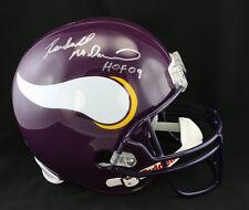 Randall McDaniel SIGNED Minnesota Vikings F/S Helmet +HOF 09 PSA/DNA AUTOGRAPHED