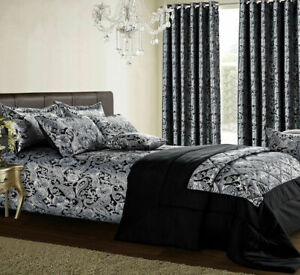 3Piece Jacquard Quilted Bedspread Comforter Bed Throw Coverlet with Pillow Shams