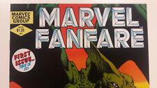 Marvel Fanfare 1  NM/NM+/MT? -> CCS/CGC   Savage Land / Sauron / Vertigo -> MCU?
