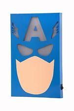 The Avengers Captain America LED Wall Light Globox Marvel Comics New LIGHTS UP!