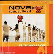NOVA Sounds Different CD - 34 Marvelarse Songs