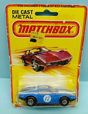 MATCHBOX LESNEY / SUPERFAST / EXPORT ISSUE / N°8 DE TOMASO PANTERA 1/64