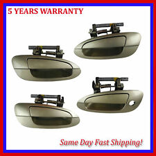 For Nissan Altima 2002-2006 Champagne Gold EY1 Outside Outer Door Handle 4PCS