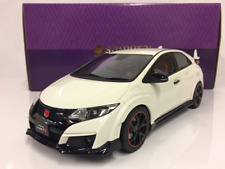 Honda Civic Type R White 1 18 Scale Resin Kyosho Ksr18022w