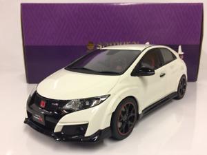 Honda Civic Type R Blanc 1:18 Échelle Résine Kyosho KSR18022W