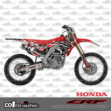 GRAPHICS DECALS STICKERS FULL KIT FOR HONDA CRF250R 2014-2017 CRF450R 2013-2016